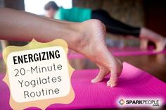 20 Minute Yoga-Pilates Fusion #Workout from Kathy Smith | via @SparkPeople