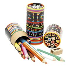 Chunky Pencils arti kid, small hand, gift ideas, hands, color pencil, big pencil, kids, holiday gifts, colored pencils