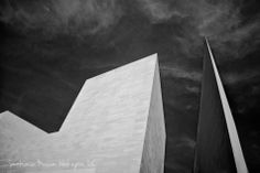 Infrared image of the Smithsonian Museum of Art, Washington D.C. - From the world of Marc Weisberg Architectural | Real Estate Interior photography.