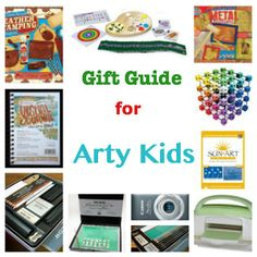 Gift Guide: Best Toys for Arty Kids :: PragmaticMom