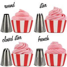 Cupcake Decorating Tip Set