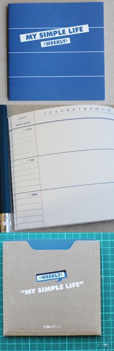 My Simple Life Weekly Planner £6.50
