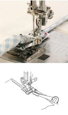 Janome - Accessories: Binder Foot