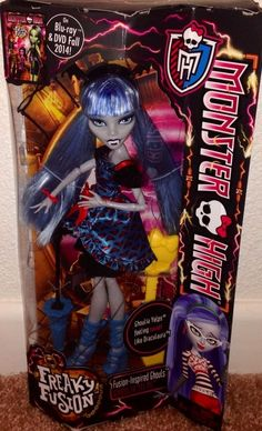 Monster High Freakie Fusion Ghoulia NEW Just Released IN HAND