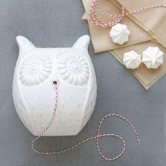 Owl String Holder