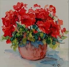 Carolyn Opderbeck ALCOHOL INK