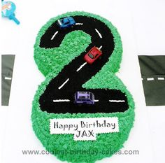 Cool Homemade Racecar Birthday Cakes and Tips