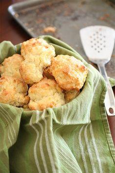 White Cheddar Garlic Biscuits