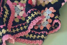 Lovely vintage blanket @ Wild Olive