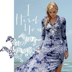 Lilly Pulitzer Resort '13- Marcel Maxi in I Herd You