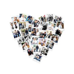 Heart Snapshot Mix™ Photo Art Custom Art Prints