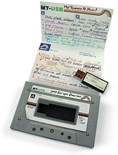 LOVE this. Miss making mixed tapes! Awesome to send in care packages too!