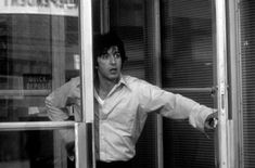 Dog Day Afternoon (1975): Based on an actual bank robbery that took place in 1972, Sidney Lumet's film was shot almost in its entirety on a quiet stretch of shopfronts on Prospect Park West btw 17th and 18th Street, just south of Park Slope, Brooklyn. Al Pacino played the mastermind bank robber Sonny Wortzik, who would often leave the safety of the bank and stand in the street shouting abuse at the gun-pointing police.