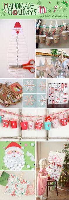 handmade advent calendars