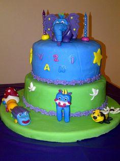 Tony Sadaka shared this amazing birthday cake created by Zeina Sayah Sadaka! We love all the characters they created! #GBbirthday