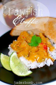 Crawfish Etouffee Recipe #jaderbomb #crawfish #louisiana