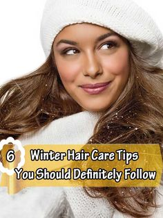 Winter Hair Care Tip
