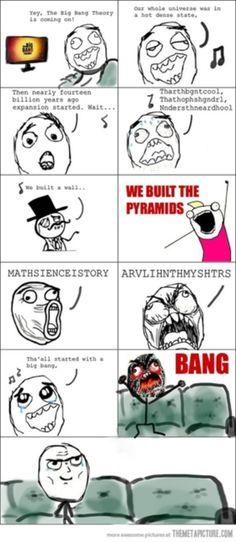 BIG BANG (big bang theory)