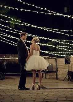cute outdoor wedding #JustFabinlove #Wedding