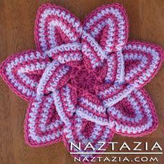 Crochet Star Hotpad Potholder Free Pattern