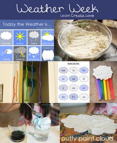 weather crafts for summer school