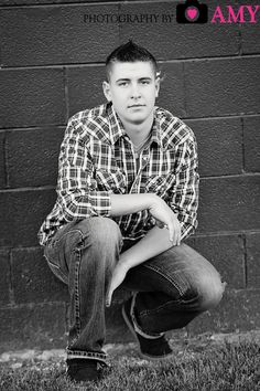 Senior photography, senior boy picture