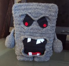 Whomp Mario Bros Plushie - Free Crochet Pattern