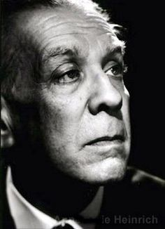 JORGE LUIS BORGES  Argentine writer, one of the most prominent of the literature of the XX century