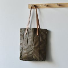 LEATHER TOTE by Bookhou