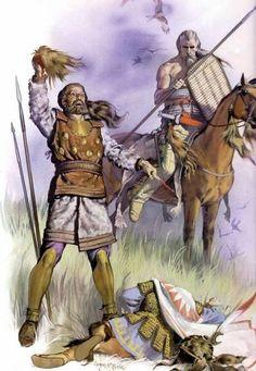 Scythes.  Illustration d'Angus Mc Bride.