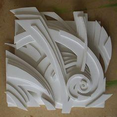 foam board relief sculpture - Google Search