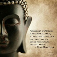 The secret of Buddhism...
