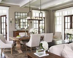 decor, mirror, dining rooms, interior, dine room