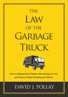 AUTHOR IS DAVID POLLAY    If other people dump their garbage on you - just let it roll off. Don't start spreading it around. Great Story. Worth the read.