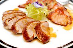 Roast meat platter