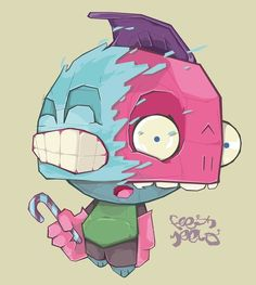 Graphic Design Inspiration – Character Illustrations by Feesh Meelo
