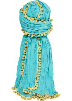 turquoise and lime!!