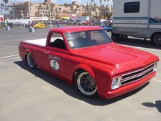 "Pro Touring 1967 Chevy c10 ""Hellboy"" by No Limit Engineering- 2012 OUSCI competitor"