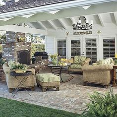 Create an Outdoor Room love  the comfortable  outdoor room  so great  for Arizona desert climate