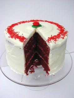 Red Velvet Layer Cake from Food Network magazine