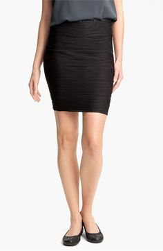 Lily White Textured Bandage Skirt (Juniors) available at #Nordstrom