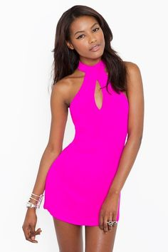 neon hot pink. yes please <3