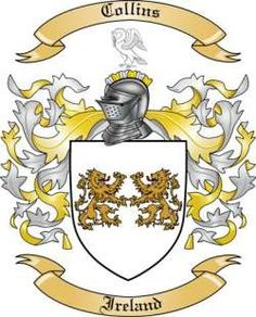 Collins Family Coat of Arms from Ireland