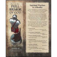 Full Armor of God Mounted Print