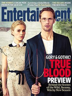entertainment weekly--sookie & eric