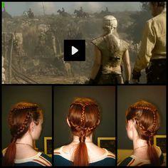 Daenerys Targaryen hair!