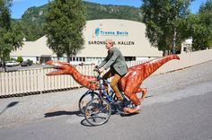 Are You Brave Enough to Ride a Dinocycle? The Answer Is Yes!
