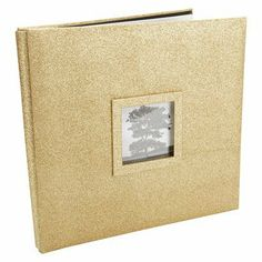"Martha Stewart Glitter Gold Martha Stewart Fashion Album 12""  - 12""X12"""