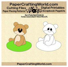 Bear in Floatie Digital Printable. Direct Link: http://www.papercraftingworld.com/item_863/Bear-in-Floatie-DS.htm
