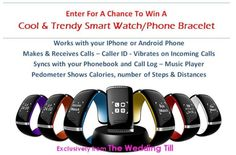http://woobox.com/a5w9u3  Enter to win a #smartwatch through The Wedding TIll!  The Wedding Till was created to support brides in their wedding planning process.  Enter for your chance to win today!   #bride #budgetbride #wedding #weddingplanning #engaged #engagement #marriage #giveaway #free #freebie #smartwatch #iphone #android #love